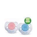 Avent Beruhigungs Nuggi 6-18 Mt transparent 2 Stk