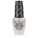 OPI Matte Topcoat, 15 ml