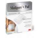 3M Medipore + Pad 5 cm x 7.2 cm, 5 Stk.