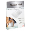 3M Medipore + Pad 10 cm x 15 cm, 5 Stk.