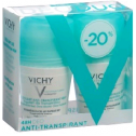 Vichy Deo Antitranspirant Roll-On, 2x50 ml